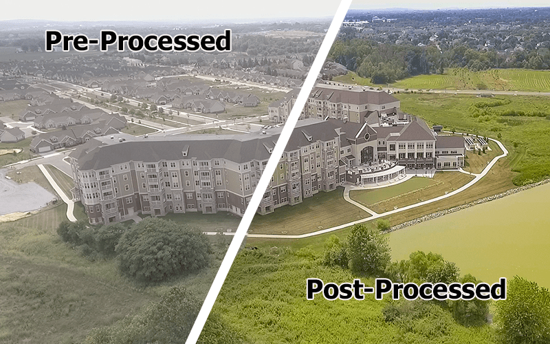 auxilium-processing drone photography