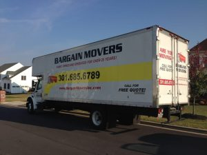 Moving Companies In DC Metro Area